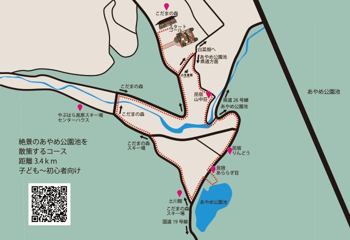 あやめ高原池コース