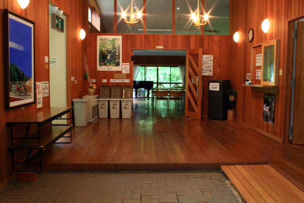 セミナーハウス玄関