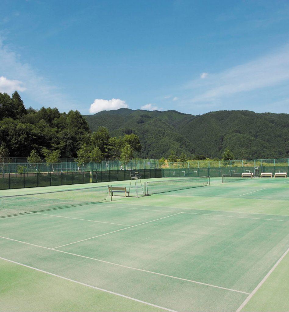 テニスコート(施設案内)